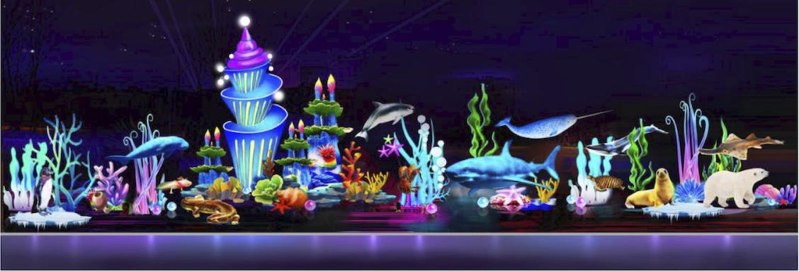 Chinese Lantern Lights Festival, Endangered Marine Life