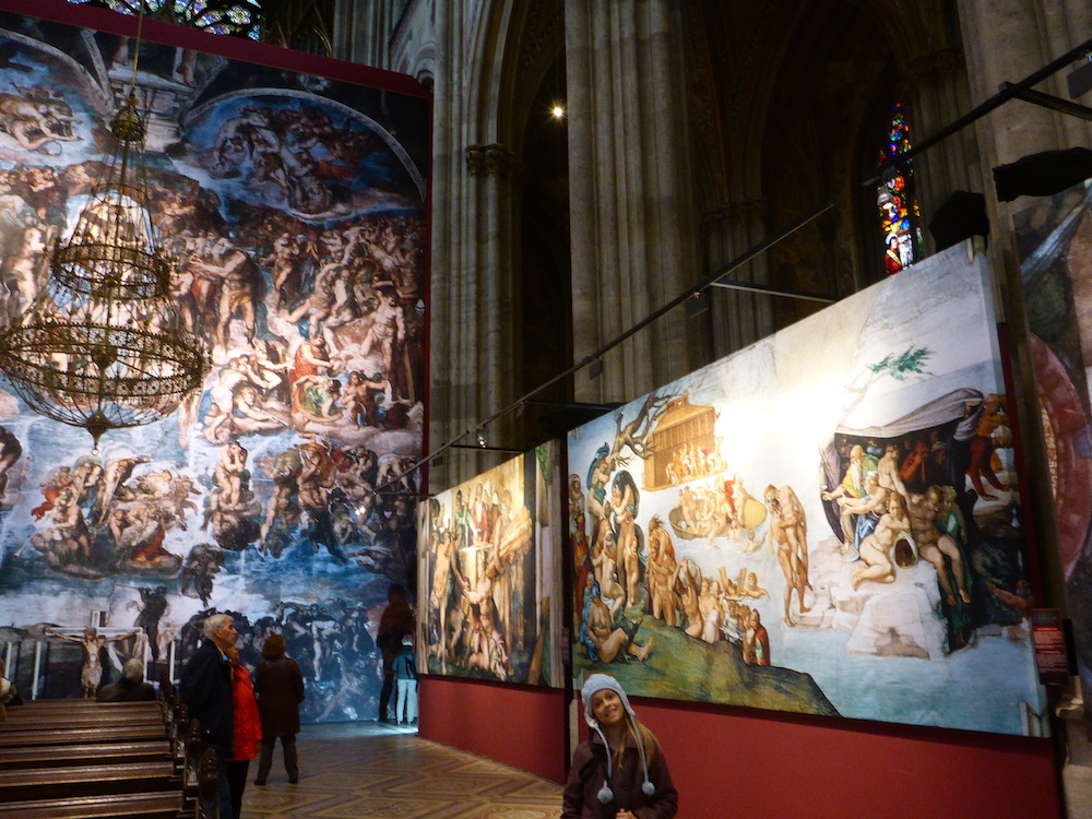 Michangelo's Sistine Chapel Exhibtion