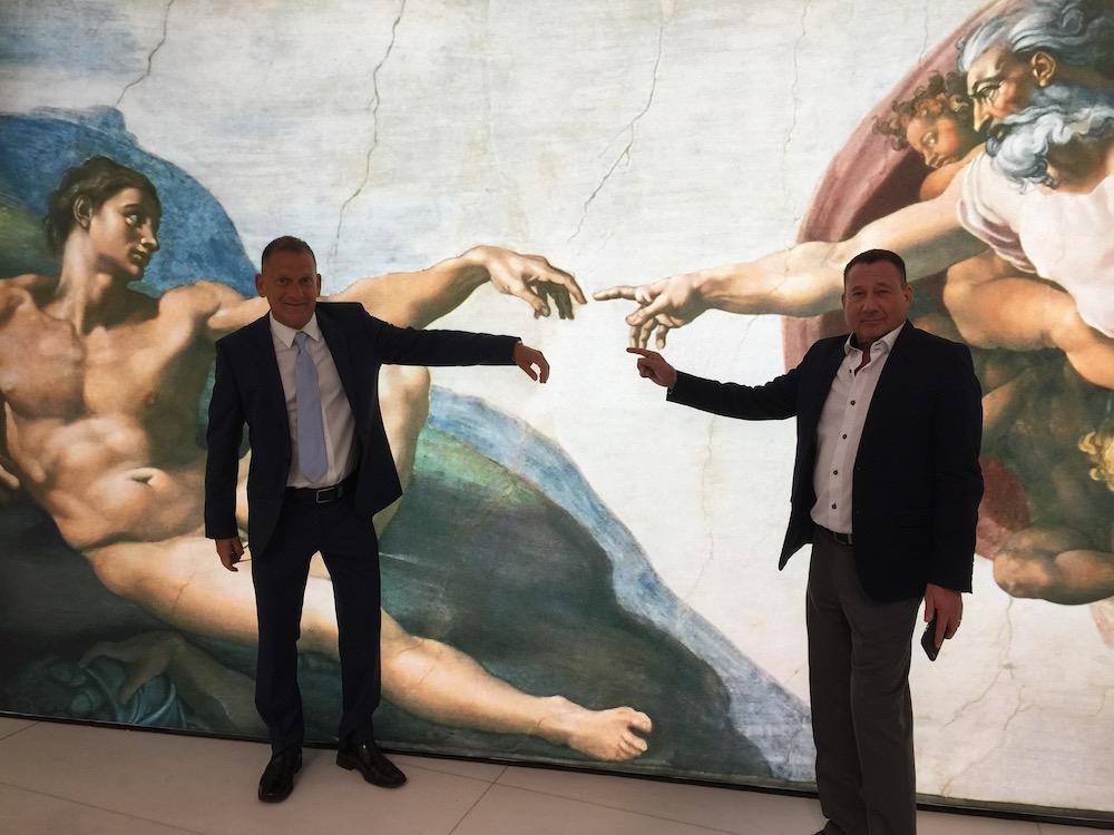 Michangelo's Sistine Chapel Exhibtion